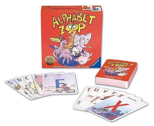 Amazon.com: Ravensburger Alphabet Zoop - Children's Game: Toys & Games