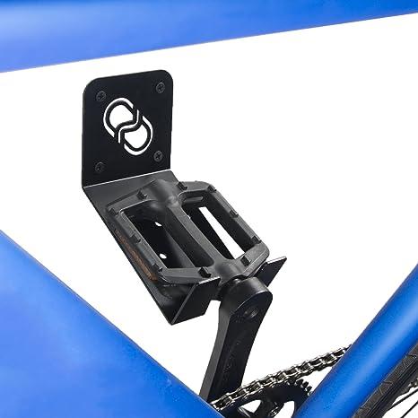 Fabricado en Espa/ña. 100/% Acero Soporte colgador para bicicleta