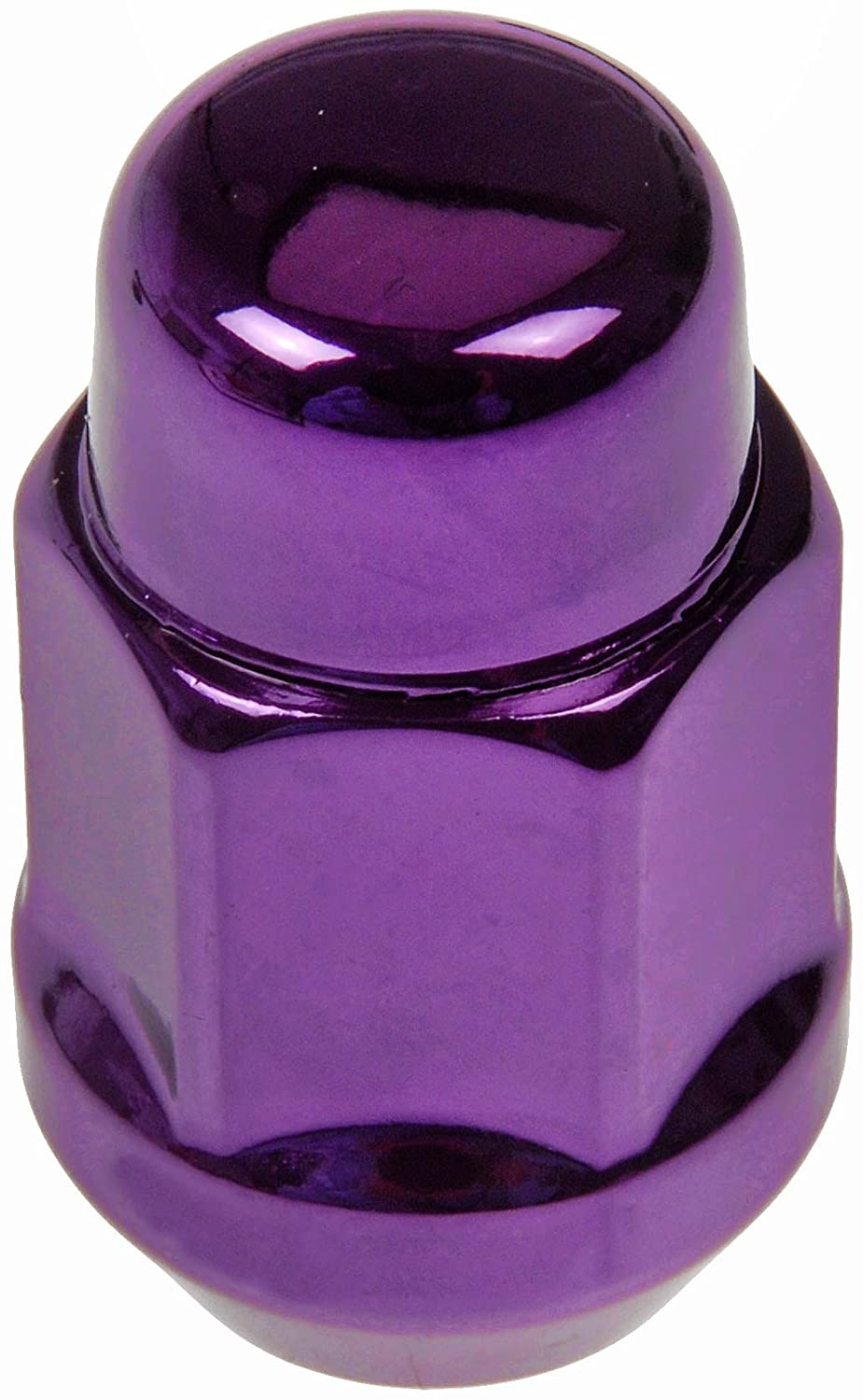 Dorman 711-335J Pack of 16 Purple Wheel Nuts and 4 Lock Nuts with Key