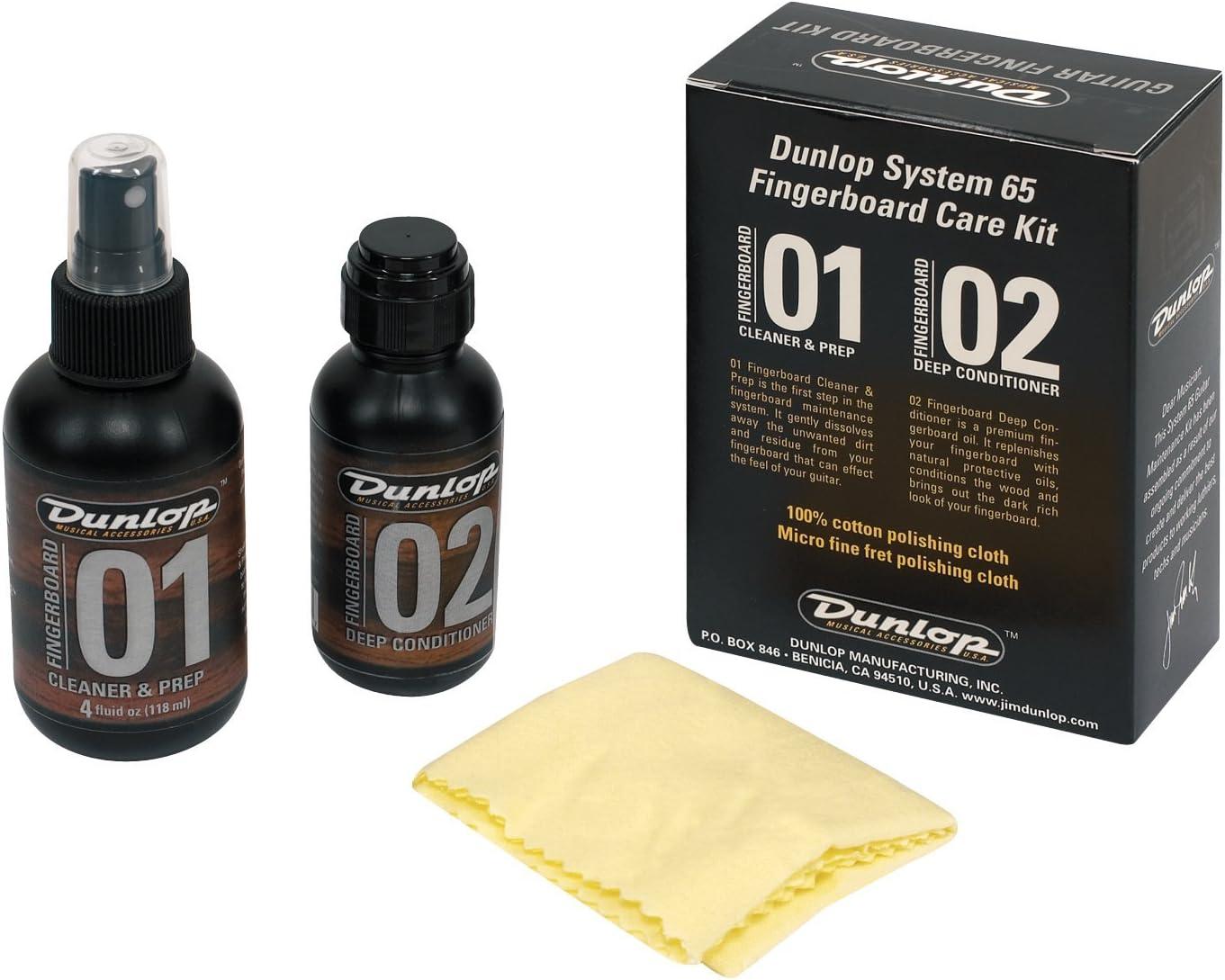 Jim Dunlop Diapasón Kit para el cuidado