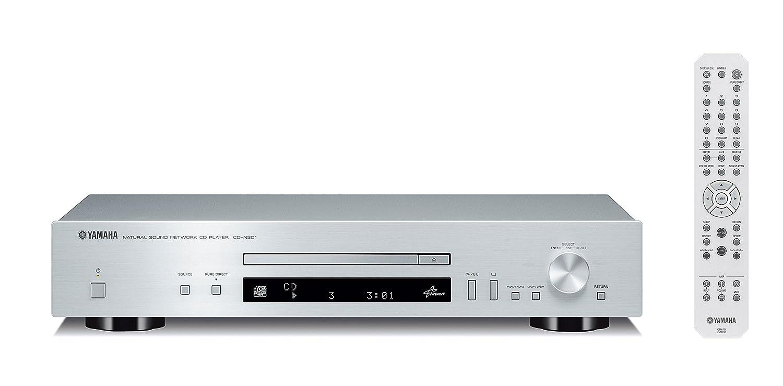 Yamaha CD-N301 - Unidad de CD (110 dB, HiFi, reproducción de MP3), plata: Amazon.es: Electrónica
