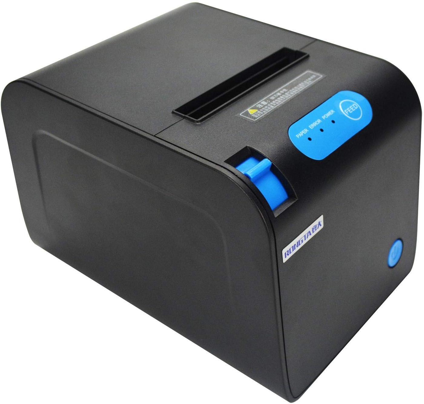 Impresora de recibos térmica POS – Puerto Ethernet serie USB ...