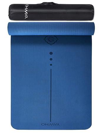 Amazon.com: YAWHO - Esterilla de yoga con especificaciones ...