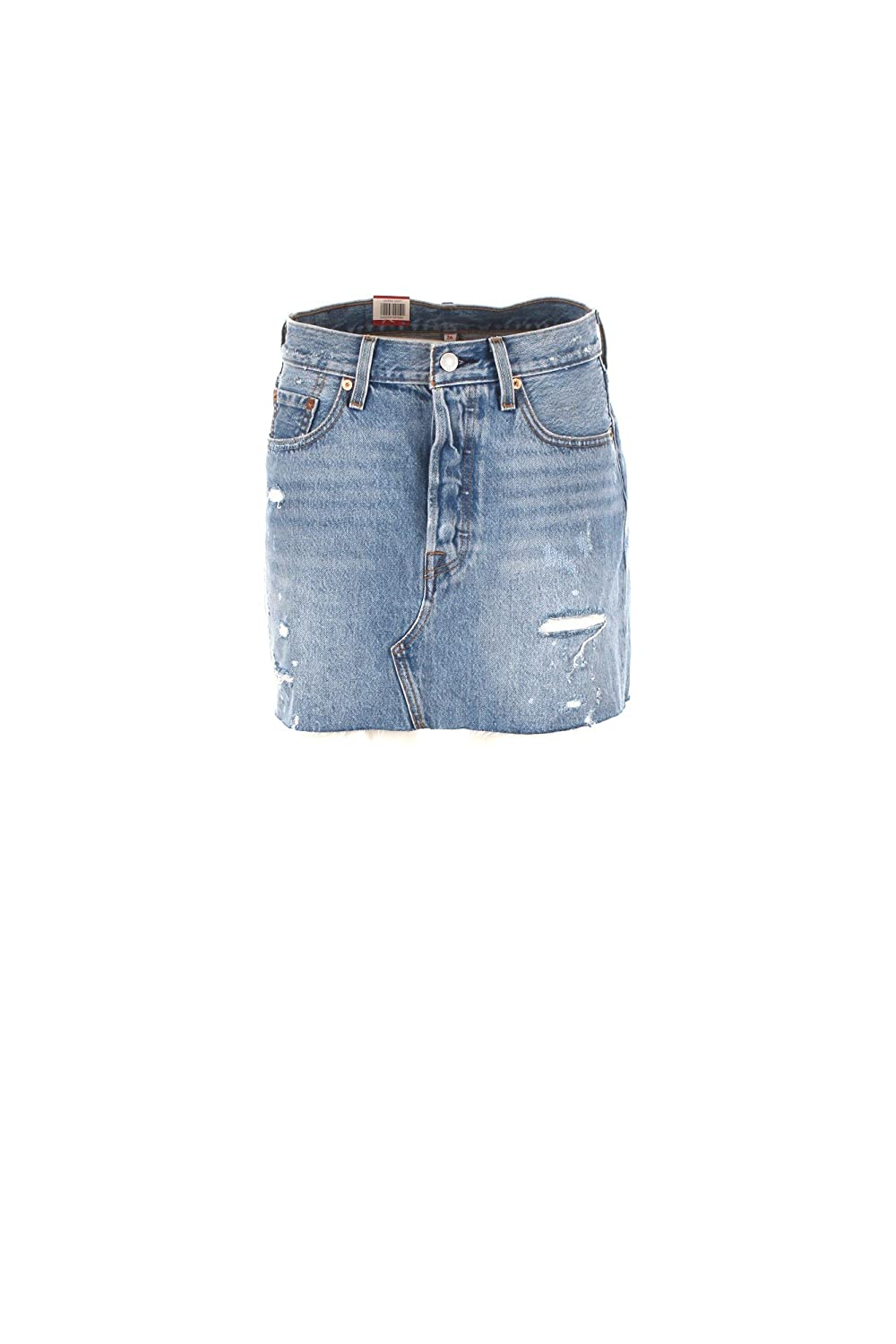 LEVIS 34963 DECONSTRUCTED SKIRT FALDAS Mujer DENIM LIGHT BLUE 28