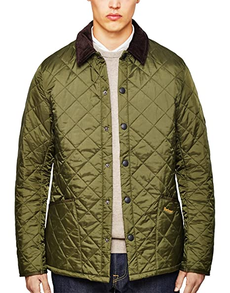 Barbour Heritage Liddesdale Quilted Jacket Olive L  Amazon.ca  Luggage    Bags dd7098e5ed