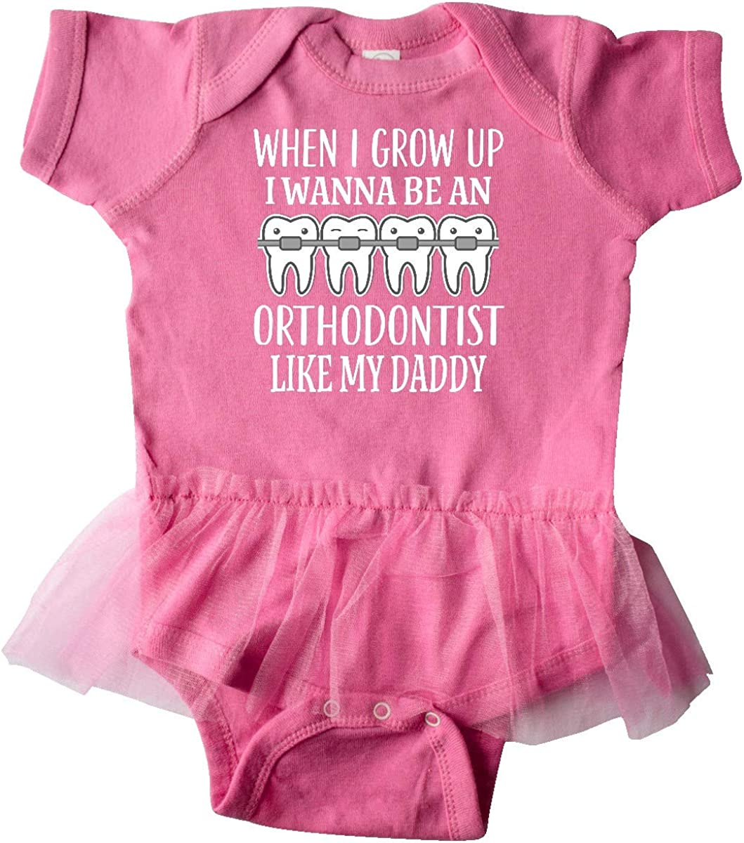 inktastic Future Orthodontist Like Daddy Infant Tutu Bodysuit