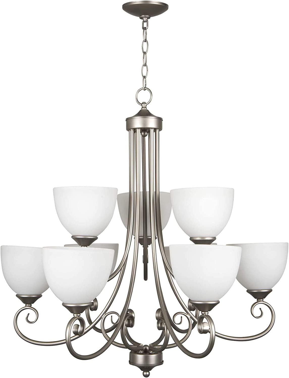 Craftmade 25329-SN 9 Light Chandelier