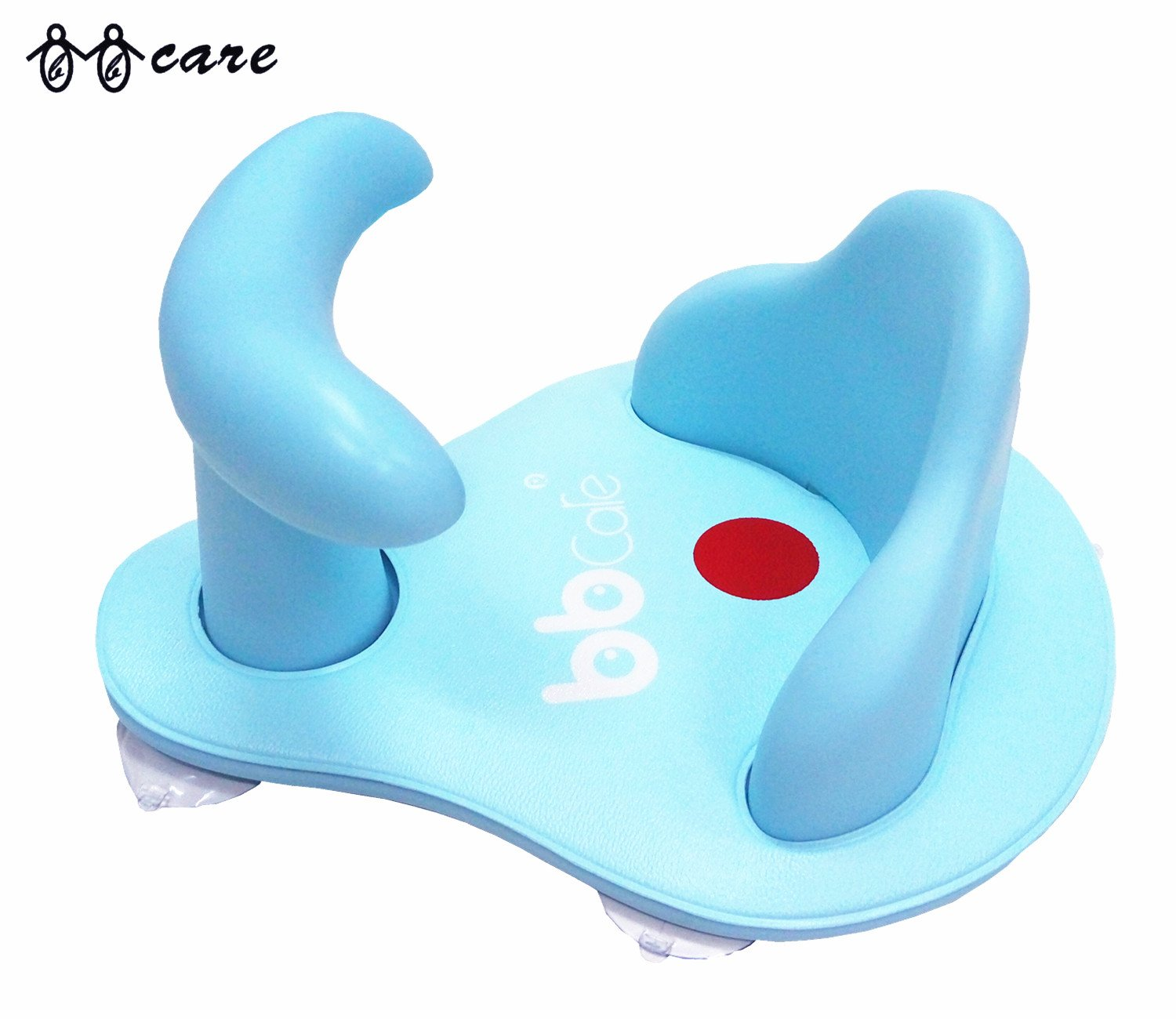 BBCare Baby Safety Bath Seat with Mini Soft Mat and Hot Spot Yellow