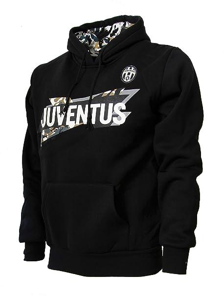Zero & Company Juventus FC Felpa con Cappuccio Adulto e Bambino