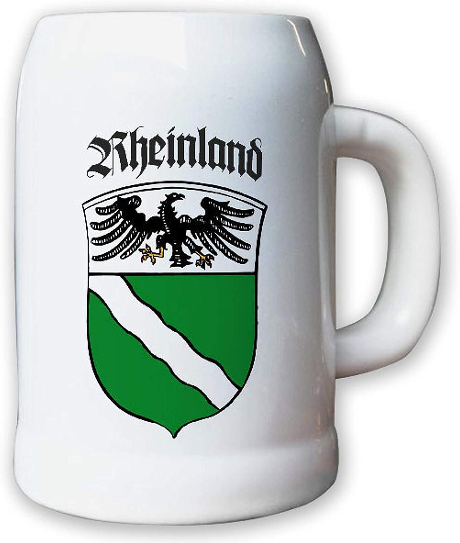 Provinz Rheinland Landeswappen Stadtwappen #9493 Krug//Bierkrug 0,5l
