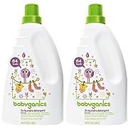 Babyganics 3X Laundry Detergent - Lavender - 64 oz - 2 pk