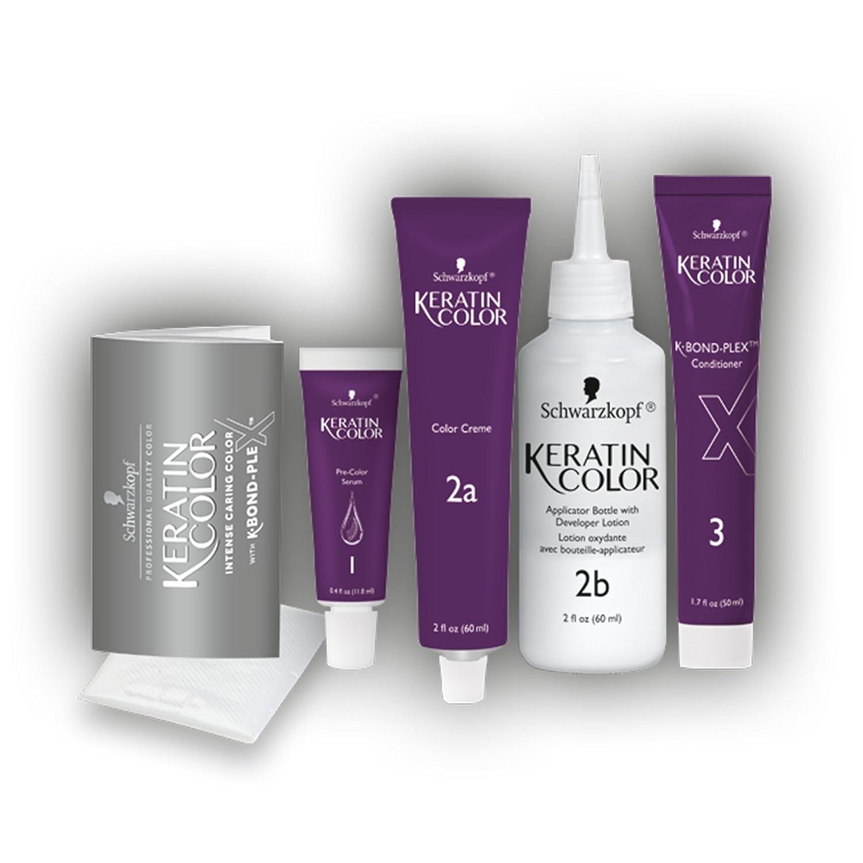 Schwarzkopf Keratin Color Permanent Hair Color Cream, 3.0 Espresso : Beauty