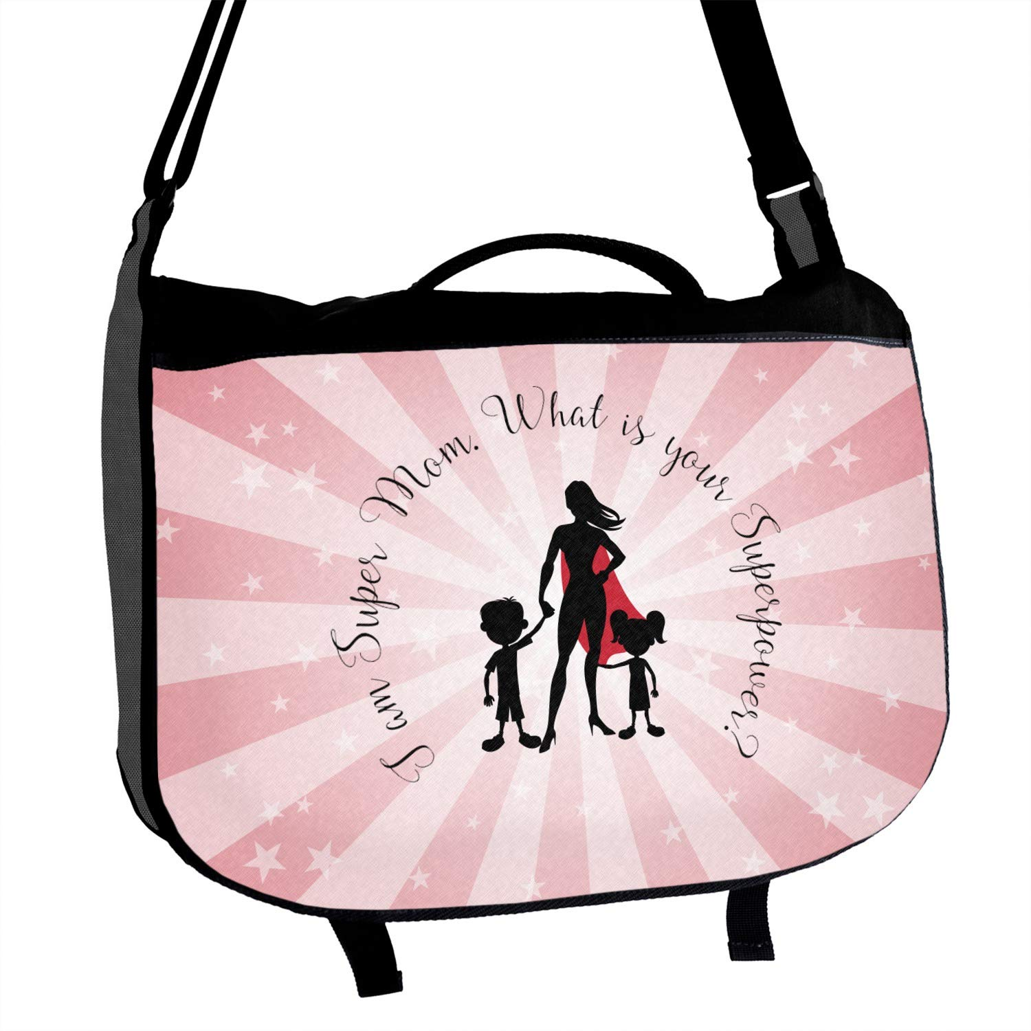 Super Mom Messenger Bag