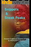 Snippets & Sneak Peaks