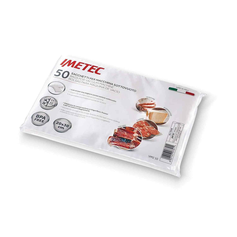 IMETEC 7341M - Bolsas para envasadora al vacío VM 1000, 50 ...
