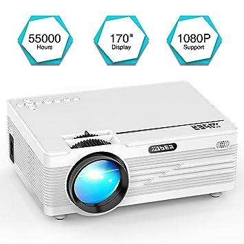 YABER Mini Proyector 3500 Lumens Multimedia Vídeo Proyector ...