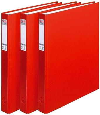 Herlitz max.file Protect - Lote de archivadores con 2 anillas (3 ...
