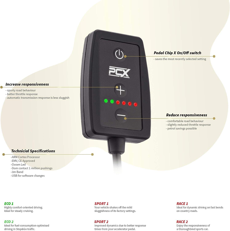 1.4 Tsi Cupra 1390Cm3 R4 132Kw 180Ps 2009-2014 6J-Mk4 Pedal Chip X Throttle Response Controller Performance Tuning Module For Seat Ibiza