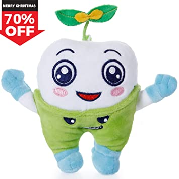 d4c8d9114 SGILE Happy Hugging Tooth Plush Toy Cuddly Snuggle Stuffed Animals ...