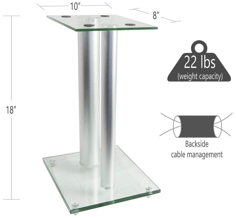 vivo premium universal floor speaker stands dual