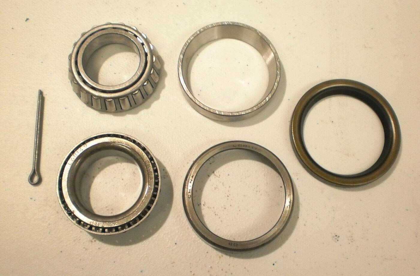 unbrand Mobile Home Trailer Axle Wheel Bearing kit 10-41 40 Seal 1.25''+1.37'' Dexter Axel by unbrand