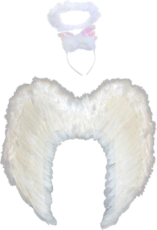 White  Angel Halo  Hallowen Christmas Fancy Dress Fairy Ladies Girl Hen Night
