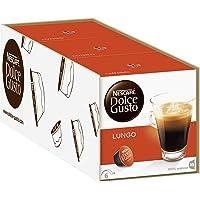 NESCAFÉ Dolce Gusto Lungo | 48 kaffekapslar | 100 % Arabica-bönor | Fin kräm och kraftfull arom | Snabb beredning…