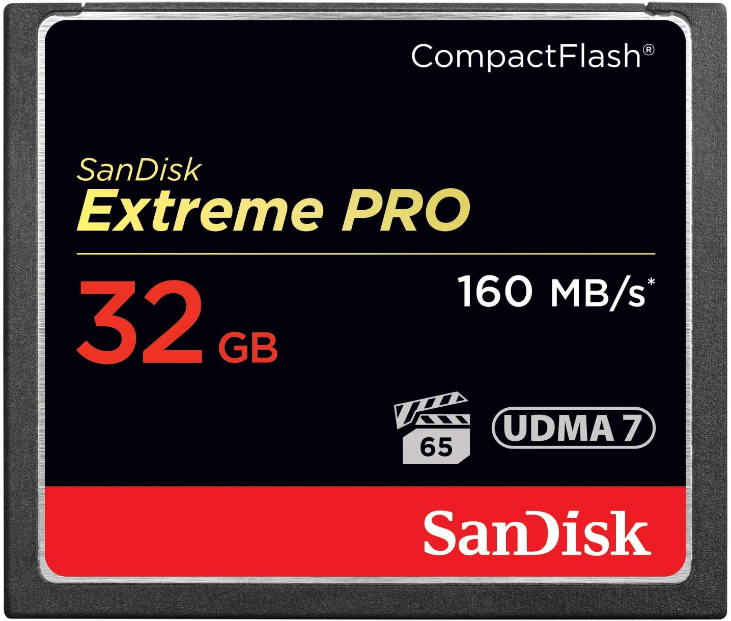 This is a photo of a 32gb microSD card from Sandisk
