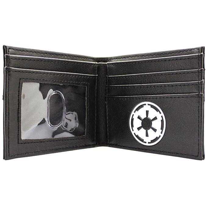 Cartera de Disney Star Wars Máscara Vader Primer Plano Negro: Amazon.es: Equipaje