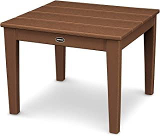 product image for POLYWOOD Newport Side Table, Teak