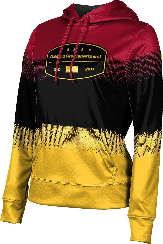 ProSphere Girls' Oakland Fire Department Drip Hoodie Sweatshirt (Apparel)