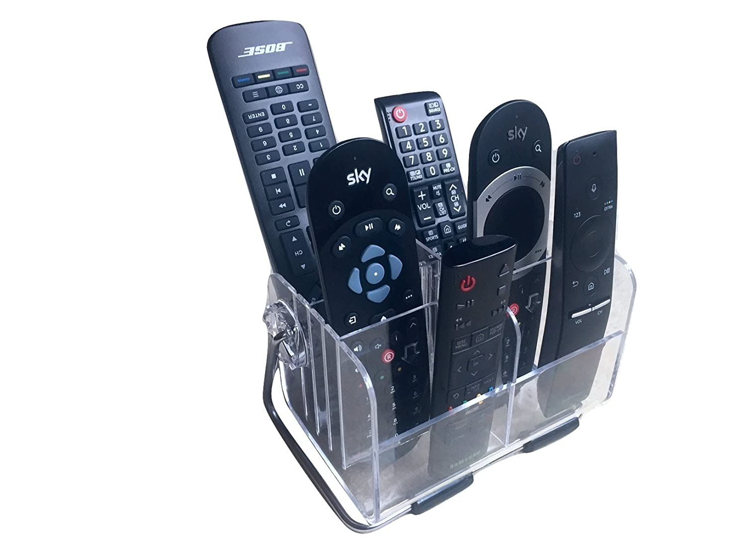 Remote Control Holder For Coffee Table Sodialr Great Ideas Remote Control Tv Handset Holder Storage