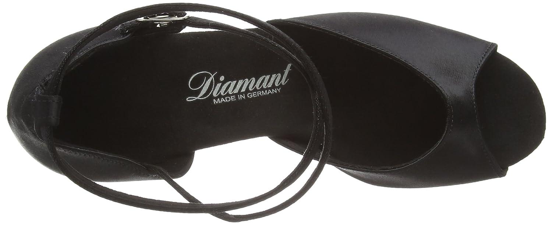 Womens Dance Shoes 017-087-091 Satin Diamant