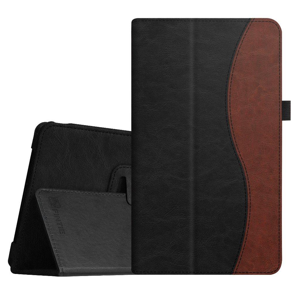 Fintie NVIDIA Shield Tablet K1 Folio Case - Slim Fit Vegan Leather Cover for 2015 NVIDIA Shield Tablet K-1 8.0-Inch (Newest Version) / Fit for 2014 NVIDIA Shield 2 8'' Tablet, Dual Color