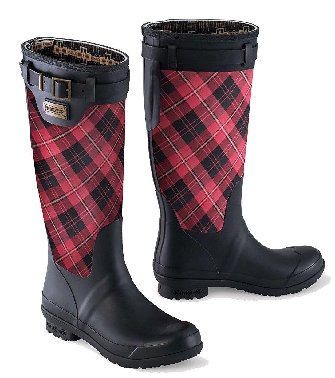 Pendleton NATIONAL PARK 8 TALL RAIN BOOTS B077YN8XSS 8 PARK B(M) US|Scarlet Cunningham a3344d