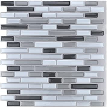 Amazon Com X Peel And Stick Tile Kitchen Backsplash