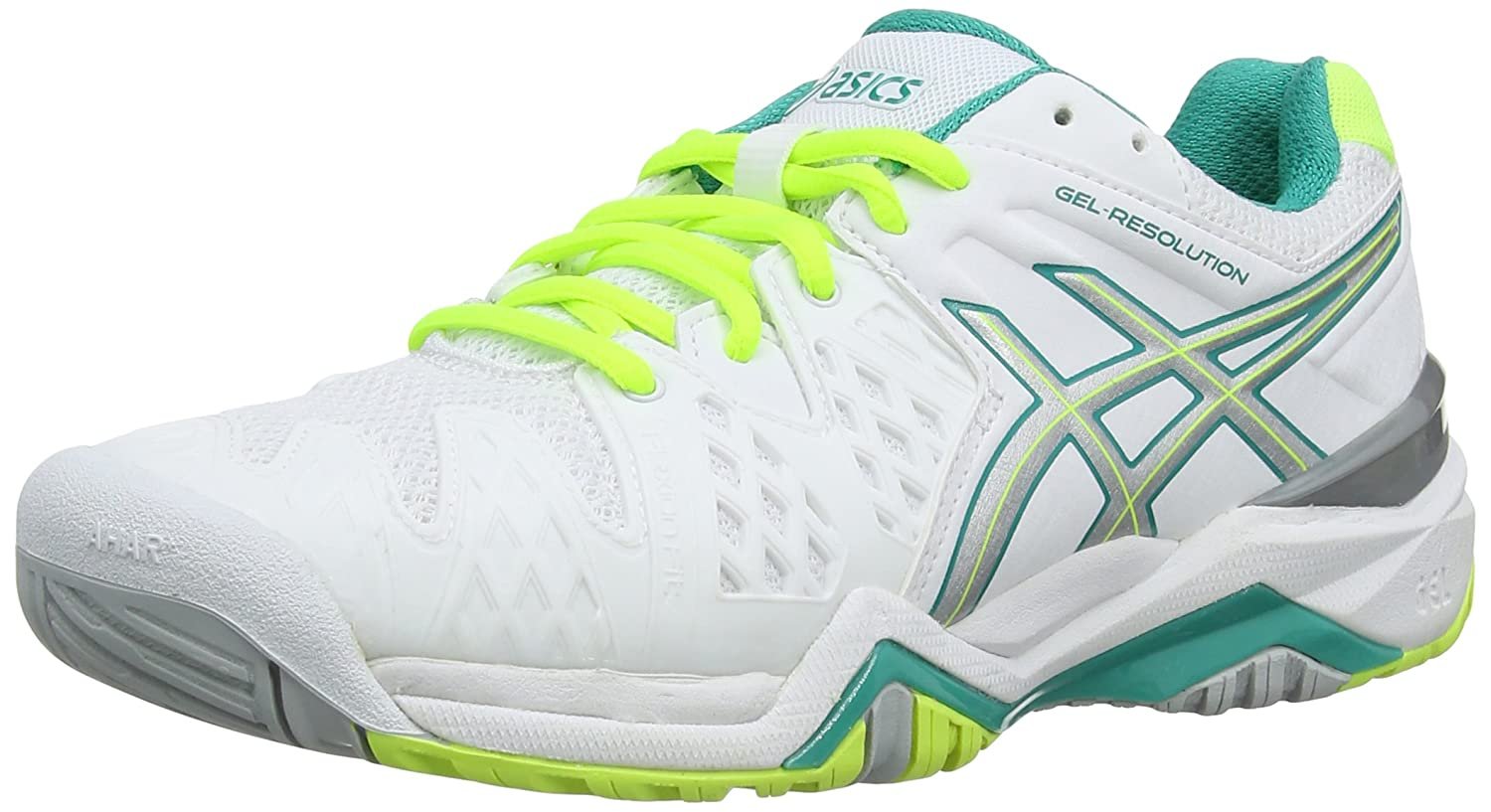 Asics Gel-Resolution 6, Chaussures de Tennis Femme 36 EU E550Y-0188