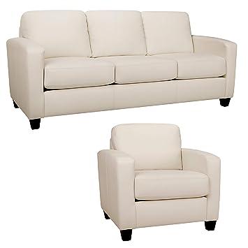 Amazon.com: Sofá y silla en Classic suave sofá es suave ...