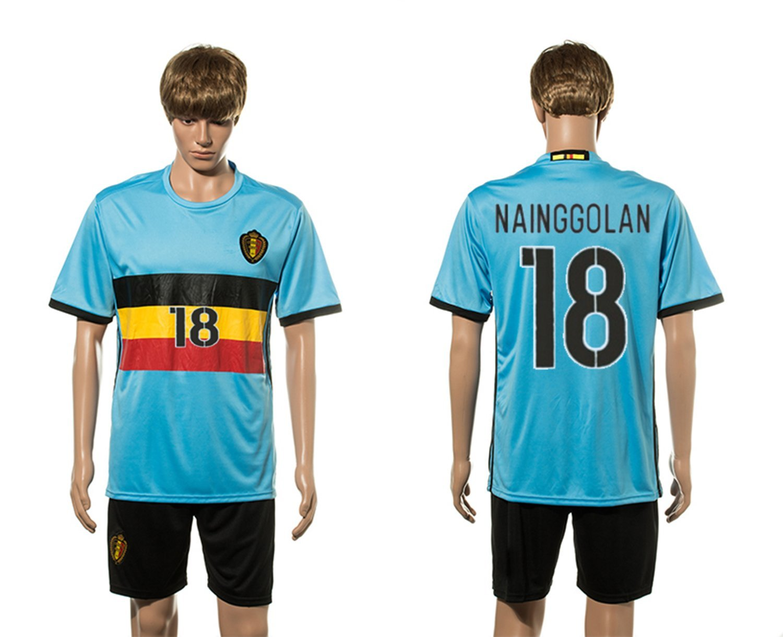 c2f7f622d Men s Radja Nainggolan  18 2016 Belgium Soccer Jersey Blue XXL   Amazon.co.uk  Sports   Outdoors
