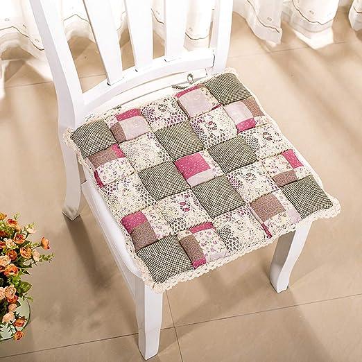 SMARTRICH colchonetas para sillas Cuadrados, Alfombrillas Suaves ...
