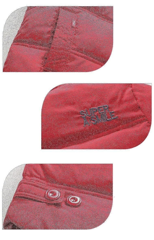 Sworld Boys Girls Outdoor Fleece Lined Rainwear Waterproof Jacket with Removable Hood Windbreaker SW5286