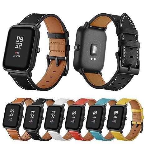 Correa de reloj con herramienta para Xiaomi Huami Amazfit Bip Youth Watch, VNEIRW correa de