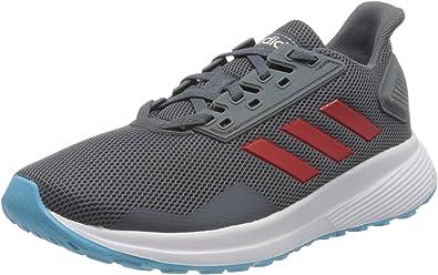 Adidas Duramo 9 K, Zapatillas para Correr Unisex Adulto, Onix/Scarlet/Bright Cyan, 39 1/3 EU: Amazon.es: Zapatos y complementos