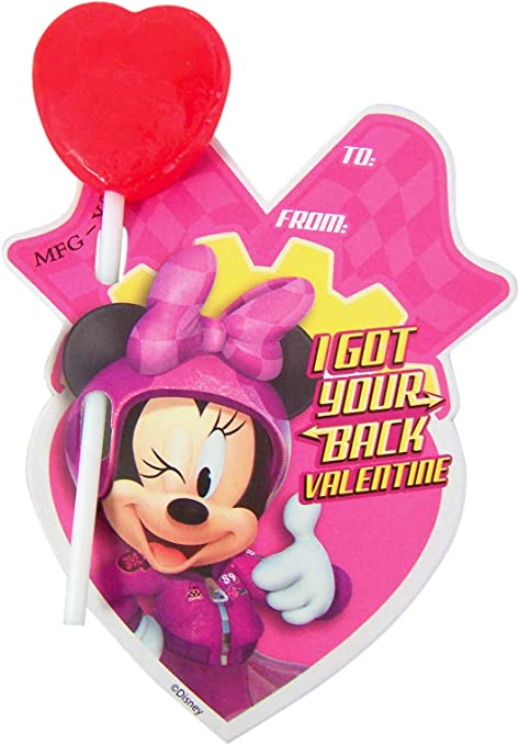 Disney Mickey Mouse /& the Roadster Racers Classroom Treats with Lollipops 28 cnt