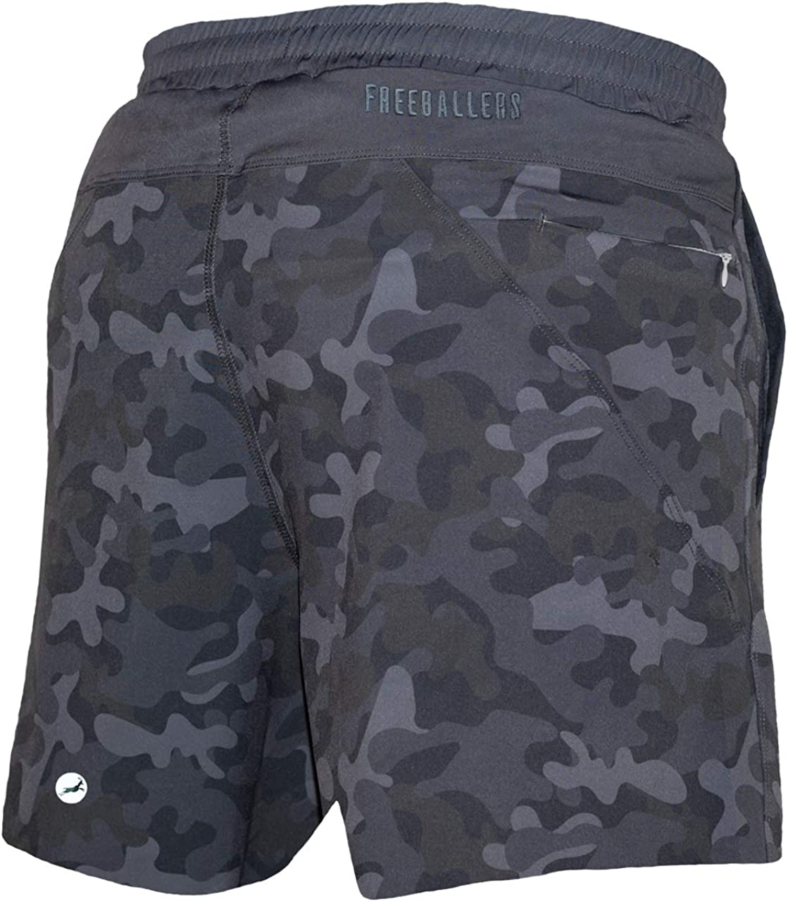 Meripex Apparel Mens Freeballer 8 Athletic Gym Performance Sport Shorts Perfect for Running and Yoga Weightlifting