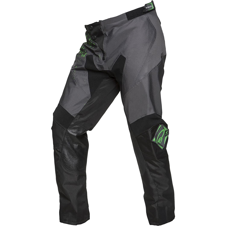 Black MX Splat Motocross Pants