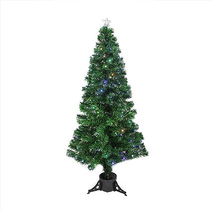 Image Unavailable - Amazon.com: 6' Pre-Lit LED Color Changing Fiber Optic Christmas Tree