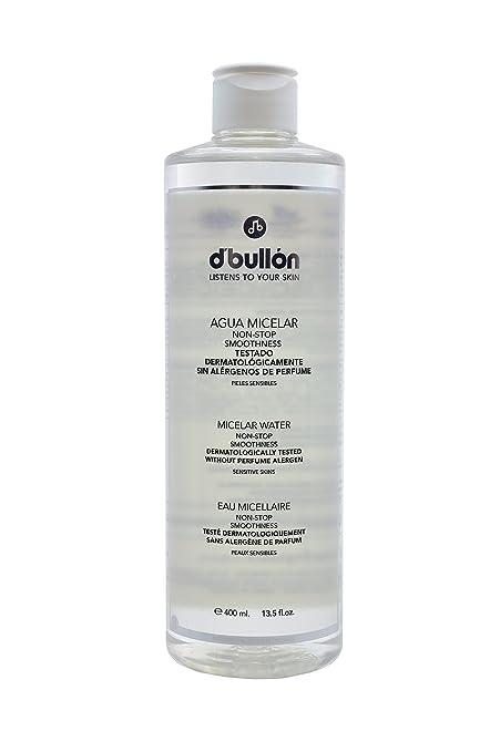 DBullón Agua Micelar para Pieles Sensibles. Desmaquilla y limpia - 400 ml