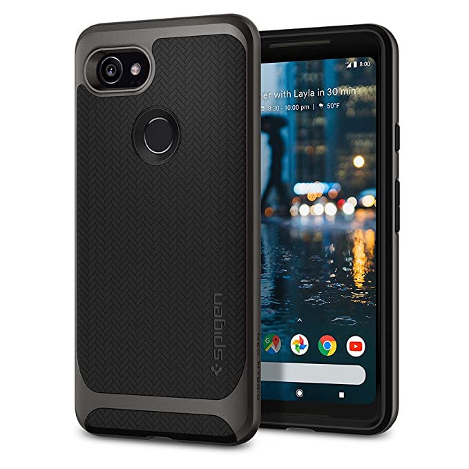 timeless design 04fa2 1a80e Amazon.com: Spigen Neo Hybrid Designed for Google Pixel 2 XL Case ...