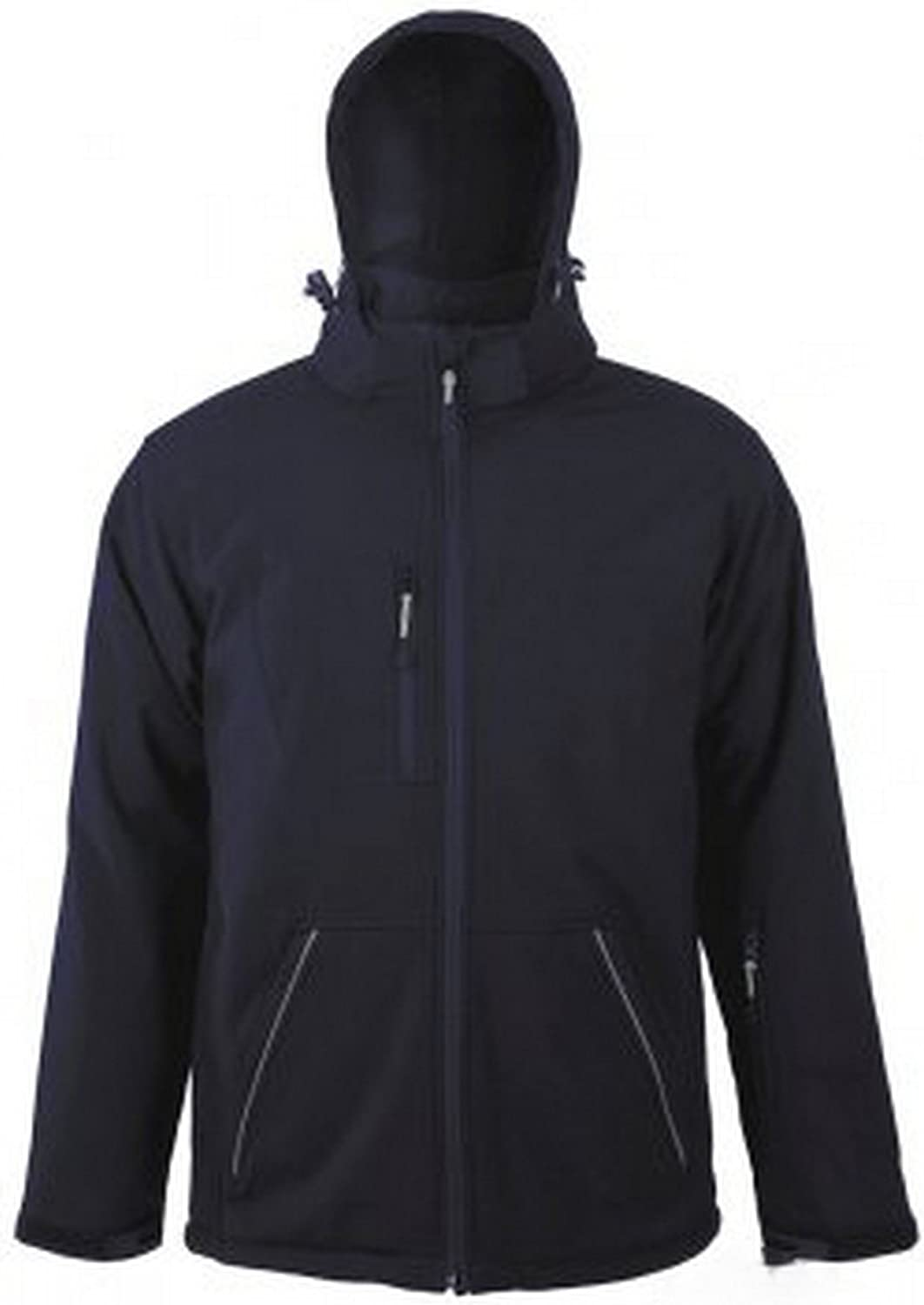 Breathable, Windproof and Water Resistant SOLS Mens Rock Soft Shell Jacket